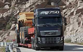 Перевозка негабаритных грузов автомобильным транспортом: правила и особенности
