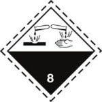Знак 8 класса опасности