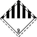 Знак 9 класса опасности