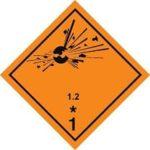 Знаки 1 класса опасности - подкласс 2