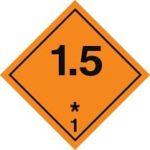 Знаки 1 класса опасности - подкласс 5