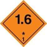 Знаки 1 класса опасности - подкласс 6