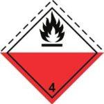 Знаки 4 класса опасности - подкласс 2