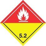 Знаки 5 класса опасности - подкласс 2