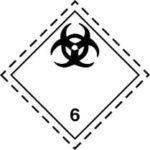 Знаки 6 класса опасности - подкласс 2
