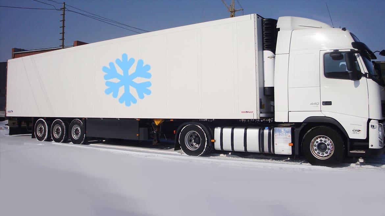 Рефрижераторный грузовик