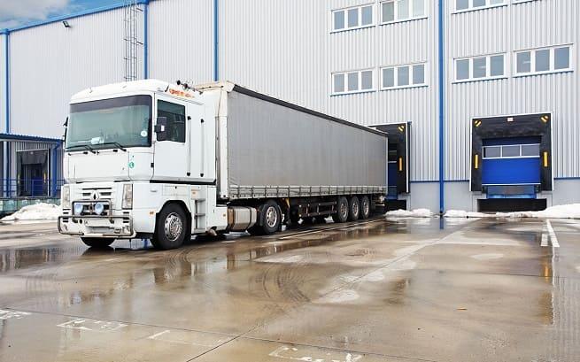 Загрузка грузового автомобиля