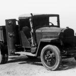 ГАЗ-42 с газонегератором