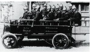 Первая советская пожарная машина