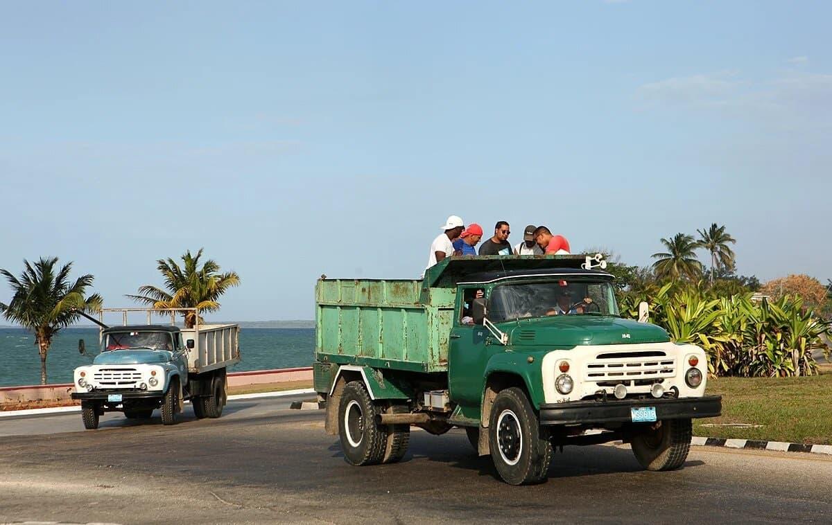 Зил-130 на Кубе