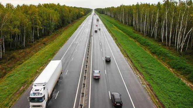 Трасса М5 Урал